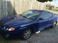 2001 Tiburon *Low KMS*