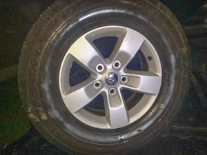 """2016 Dodge Ram 1500 17"""" rims and tires"""