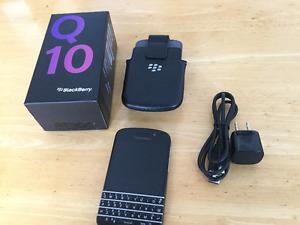 BlackBerry Q10 -16GB (Telus/Koodo) Good Condition Smartphone