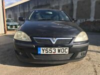 2003 Vauxhall Corsa 1.3 CDTI SXI 5 Door Hatchback ***COLOUR CODED BUMPERS***