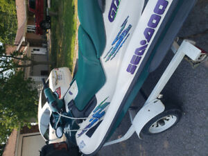 Sea-doo 3 seater GTX. LOW HOURS ONLY OWNER