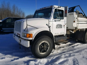 Gravel truck automatic 466 diesel