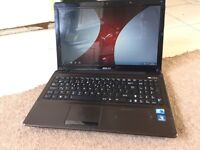 "Asus X52F 15.6"" core i3 320GB 3GB Windows 7 laptop"