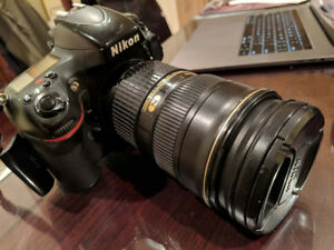 Nikon D800 body and AF-S Nikkor 24-70mm 1:2.8 G ED & 14-24mm