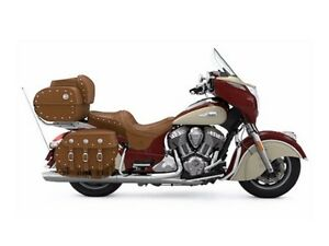 2017 Indian Roadmaster Classic Indian Motorcycle  Red over Ivory