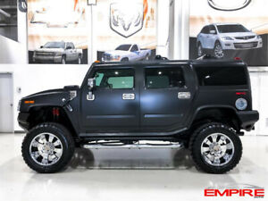Gorgeous Hummer H2, low kms, serious upgrades and newly serviced