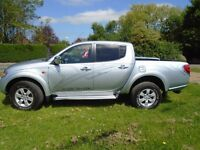 Mitsubishi L200 Double cab animal (met silver) 2009