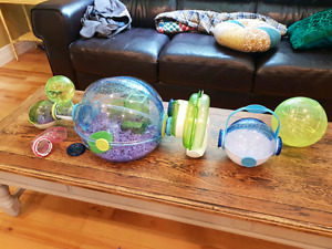 Habitrail Hamster (small animals) cage and accessories