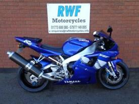 YAMAHA YZF R1, 2000, ONLY 1 OWNER FROM NEW & 13,905 MLS, MINT ORIGINAL CONDITION