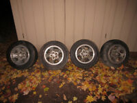 """14"""" Aluminum Camaro wheels (4)"""