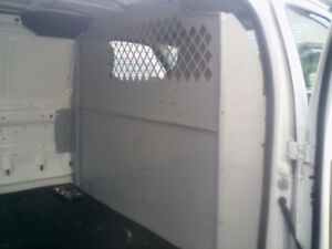 Ford cargo partition