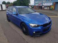 "BMW 3 SERIES 3.0 335D M SPORT TOURING AUTO XDRIVE 5 DOOR [308 BHP] 2015 ""65"" REG"
