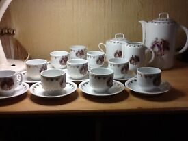 Old French Porceline Tea Set