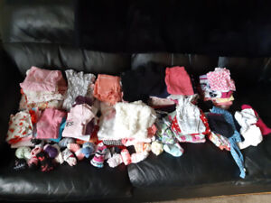 Girls clothing 6-12 month lot