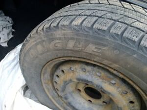 4 Triangle Snow Tires 205/65/15 for $300