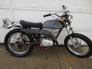 1971 Yamaha CT-1 175cc Street Legal. Runs good. $650.00OBO