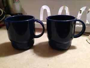 Tupperware coffee cups