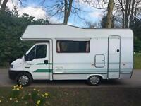 Peugeot BOXER 1.9 TDi Motorhome,4Birth,4Seat Belts,38k miles Only,End Kitchen.