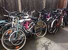 Various  bicycles for sale serviced ready to ride