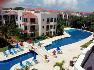 3 br family penthouse with jacuzzi in playa del carmen