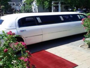 Service de limousine pour votre mariage  de rêve