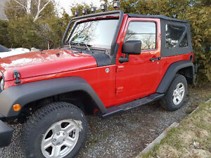 2014 Jeep Wrangler Rouge Coupé (2 portes)