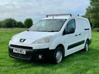 12 Peugeot Partner 1.6HDi 92 Crew Van S L2 5 seats NO VAT