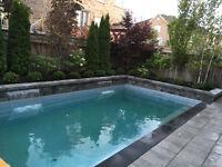 Interlocking and pools