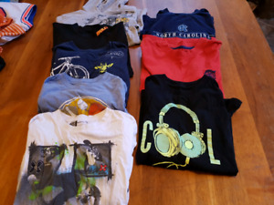 Really big lot of boys size 8 to 10 clothing