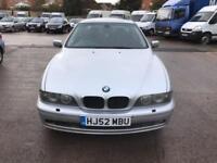 BMW 525 2.5TD d Sport Avus Blue 4 DOOR - 2002 52-REG - FULL 12 MONTHS MOT