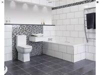 White gloss wall tiles 250mm 400mm ceramic wall tiles 1.5m2 per box