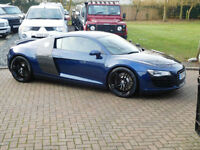 57 REG Audi R8 4.2 FSI Quattro Manual ( Mugello Blue )