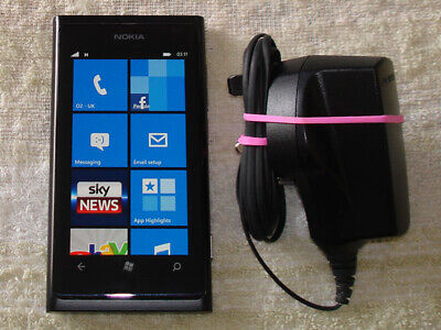 Nokia Lumia 800 Black Unlocked WiFi Camera 3G Smart Phone