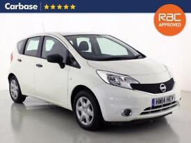 2014 NISSAN NOTE 1.2 Visia 5dr Mini MPV 5 Seats