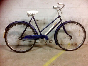 Vintage Eaton's Glider Step Through Bicycle Circa WWII - $249