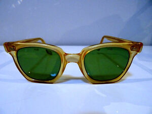 nerd 1950s-60s PARMELEE uk SAFETY GLASSES industrial STEAMPUNK Cambridge Kitchener Area image 2