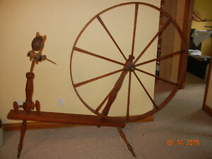 Antique Spinning Wheel...price reduced London Ontario image 1