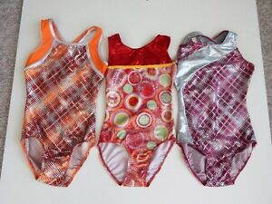 gymnastic suits from Destira $15 each