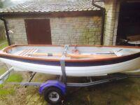 Great 12ft duchess carbon fibre pleasure boat