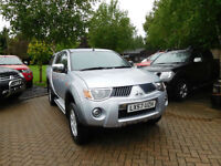 2007 57 Reg Mitsubishi L200 2.5DI-D 4WD ( lth ) Double Cab Pickup Warrior NO VAT