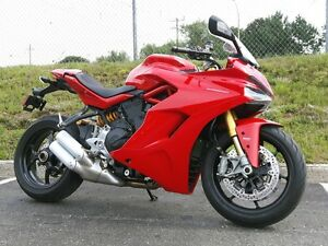 2017 Ducati SuperSport S Red