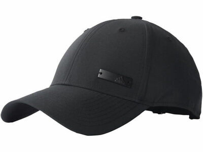 Adidas Mens Baseball Caps Metal Logo Classic Adjustable Women Sports Cap BLACK