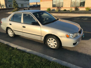 LOOKING TO BUY 2002/2001 Toyota Corolla! I Will BUY ASAP