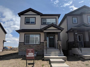 BRAND NEW SOUTH EDMONTON HOME WITH QUICK POSSESSION!