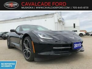 2015 Chevrolet Corvette Coupe with Z51 pkg, nav, backup cam!!