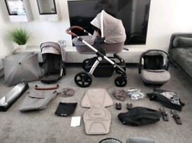 Silver cross wave double or single pram pushchair car seat
