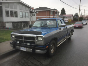 1993 Dodge Cummins 250 Pickup Truck