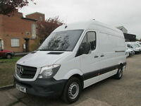 2014 Mercedes Sprinter 313CDI MWB HIGH ROOF NEW SHAPE. FINANCE £207 PER MONTH