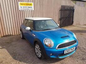 Mini Cooper S 1.6 (175bhp) Manual Petrol Blue 3 Door Hatchback 2007 Reg