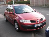57 PLATE RENAULT MEGANE 1.4 FREEWAY SPECIAL EDITION FIVE DOOR